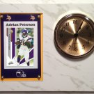 Adrian Peterson Minnesota Vikings Plaque clock.