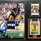 Hines Ward Pittsburgh Steelers Photo Plaque.