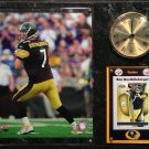 Ben Roethlisberger Pittsburgh Steelers Photo Plaque clock.