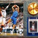 Dirk Nowitzki Dallas Mavericks Photo Plaque clock.