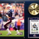 Tom Brady New England Patriots Photo Plaque clock.