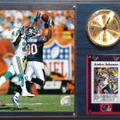 Andre Johnson Houston Texans Photo Plaque clock.
