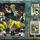 Aaron Rodgers Green Bay Packers Photo Plaque.