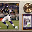Adrian Peterson Minnesota Vikings Photo Plaque clock.