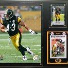 Troy Polamalu Pittsburgh Steelers Photo Plaque.