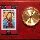 Derrick Rose Chicago Bulls clock.