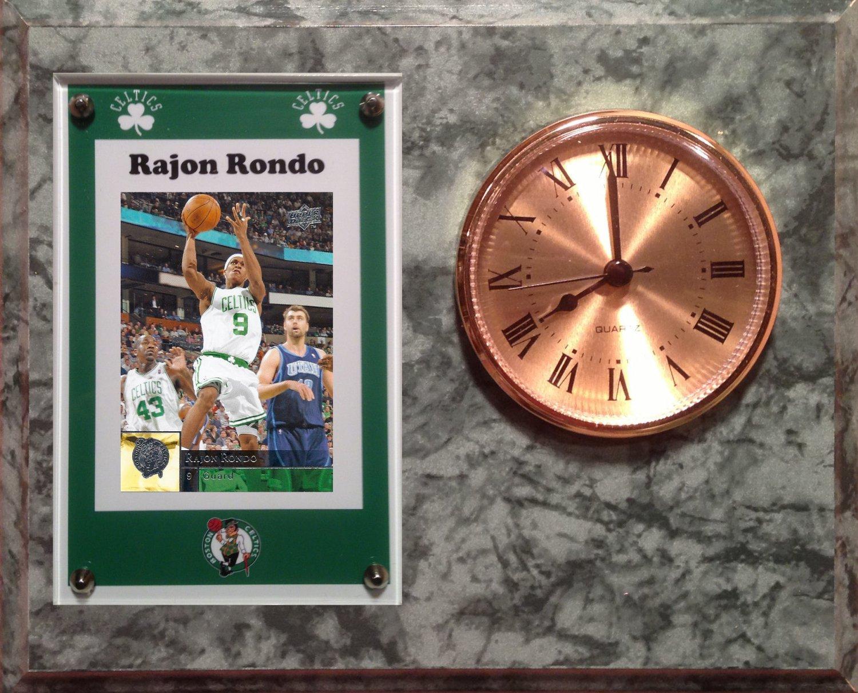 Rajon Rondo Boston Celtics clock.