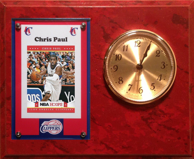 Chris Paul Los Angeles Clippers clock.