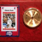 Chris Paul Los Angeles Clippers clock.