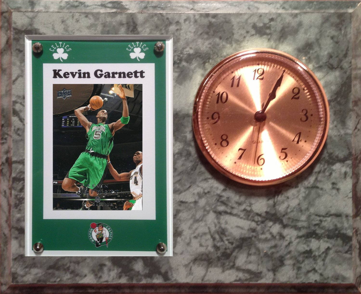 Kevin Garnett Boston Celtics clock.