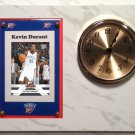 Kevin Durant Oklahoma City Thunder Plaque clock.