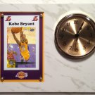 Kobe Bryant Los Angeles Lakers Plaque clock.