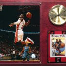 Dwyane Wade Miami Heat Photo Plaque clock.