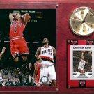 Derrick Rose Chicago Bulls Photo Plaque clock.
