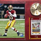 Robert Griffin III Washington Redskins Photo Plaque clock.