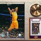 Kobe Bryant Los Angeles Lakers Photo Plaque clock.