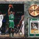 Paul Pierce Boston Celtics Photo Plaque clock.