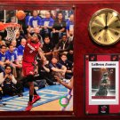 LeBron James Miami Heat Photo Plaque clock.