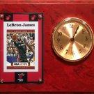 LeBron James Miami Heat clock.