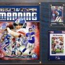 Eli Manning New York Giants Photo Plaque