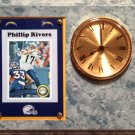 Phillip Rivers San Diego Chargers Plaque clock.