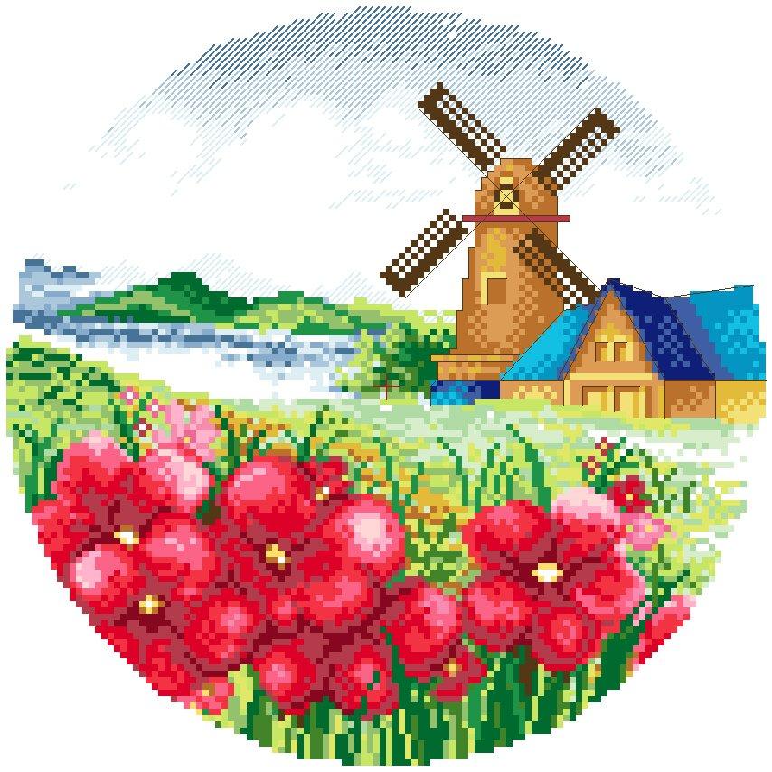 Farm in Spring