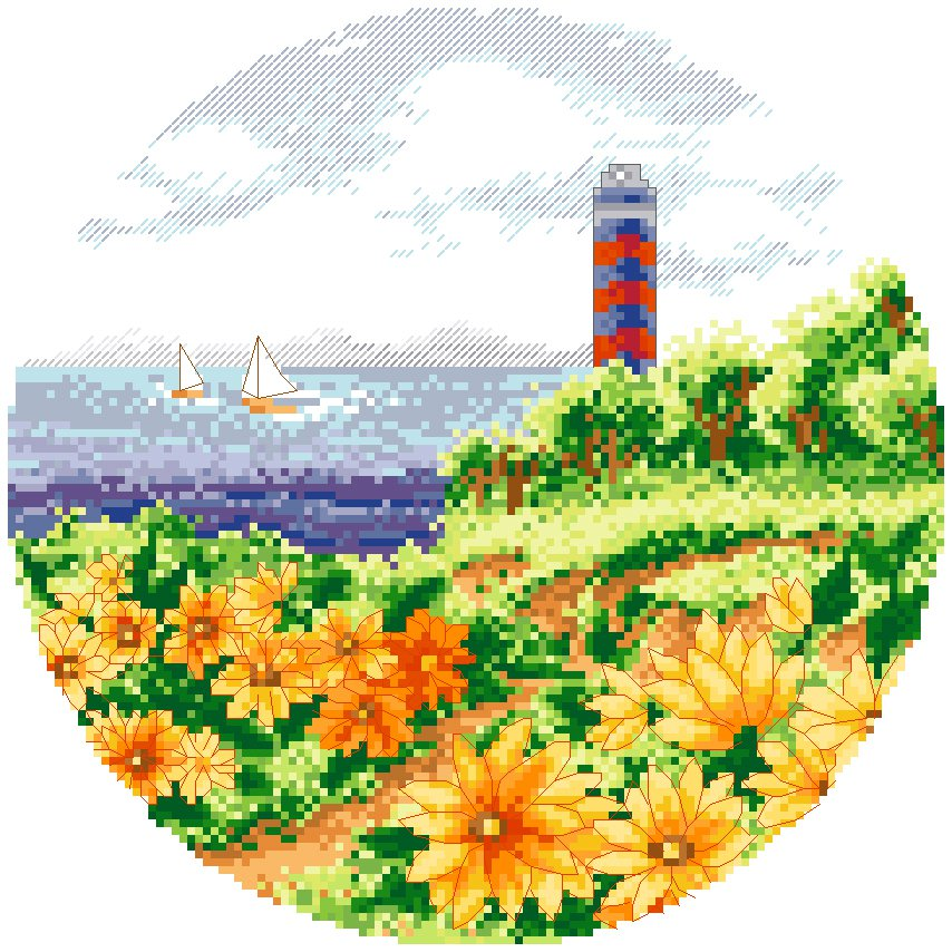 Lighthouse in Fall/Autumn