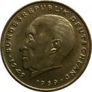 1975 F 2 Deutsche Mark Coin Konrad Adenauer - Germany Federal Republic