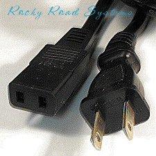 2-Prong Power Cord for Tandberg / Studer / Revox
