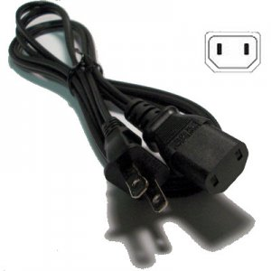 2 prong replacement AC power cord for Rotel hi-fi components