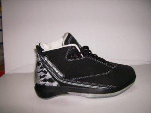 Mens Jordan XXII in Black/Grey