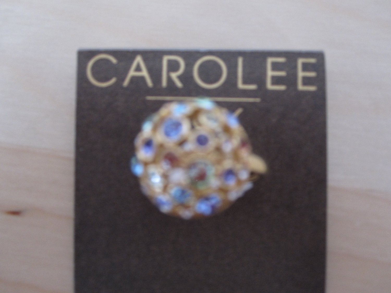 Carolee Ring W/ Crystals