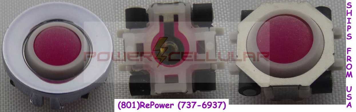 NEW MAGENTA TRACKBALL & RING FOR BLACKBERRY 8300 8310 8320 8330 8130 8120 8100 8800 8830