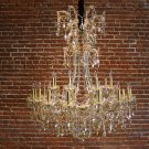 Champagne Crystal Chandelier