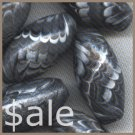 Polymer Clay Black and White Accent Beads (sale)