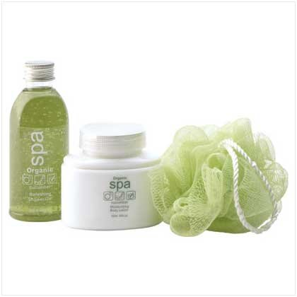 Organic Cucumber Bath Set - 38064