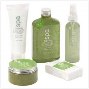 Organic Cucumber Spa Set - 38065