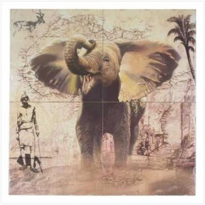 Elephant Wall Mural - 35692
