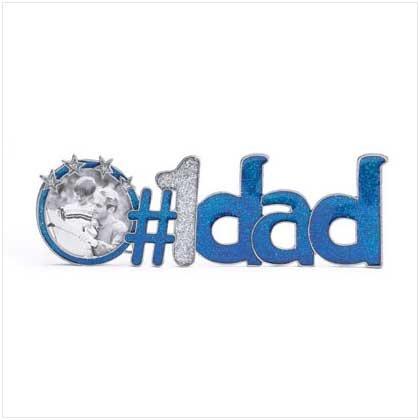"""#1 Dad"" Photo Frame - 36495"