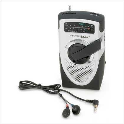 Battery-Free Emergency Radio - 36421