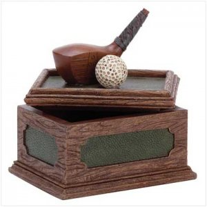 Golf Desk Box - 31566