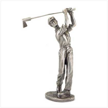Pewter Golfer Figurine - 38044