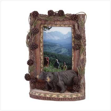 Woodsy Bear Frame - 34613