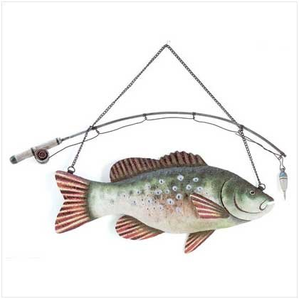 Fish Wall Decoration - 31589
