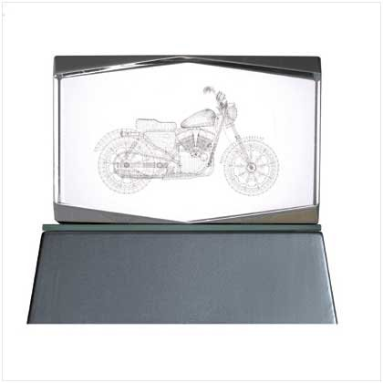 Lighted Motorcycle Cube - 36368