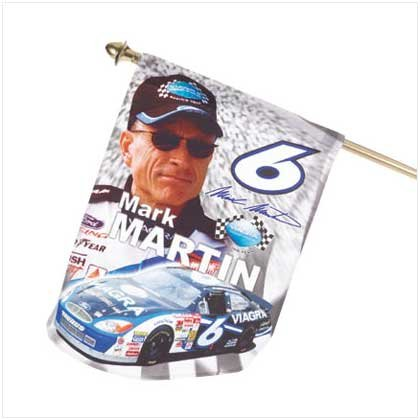 Mini Mark Martin Flag - 90015