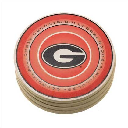 University of Georgia Absorbent Coasters - 37816