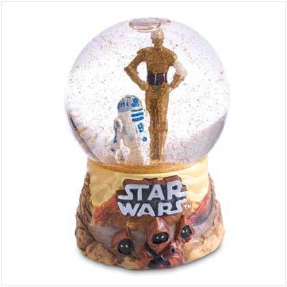 C-3PO and R2-D2 Mini Snowglobe - 37356