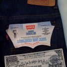 Levis 717 0617 collectible saddleman boot cut Jeans 29 x 34 New