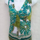 Ann Taylor pleated shoulders shell tank top size 4